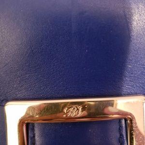 Roger Vivier Bags - Roger Vivier royal blue leather wallet